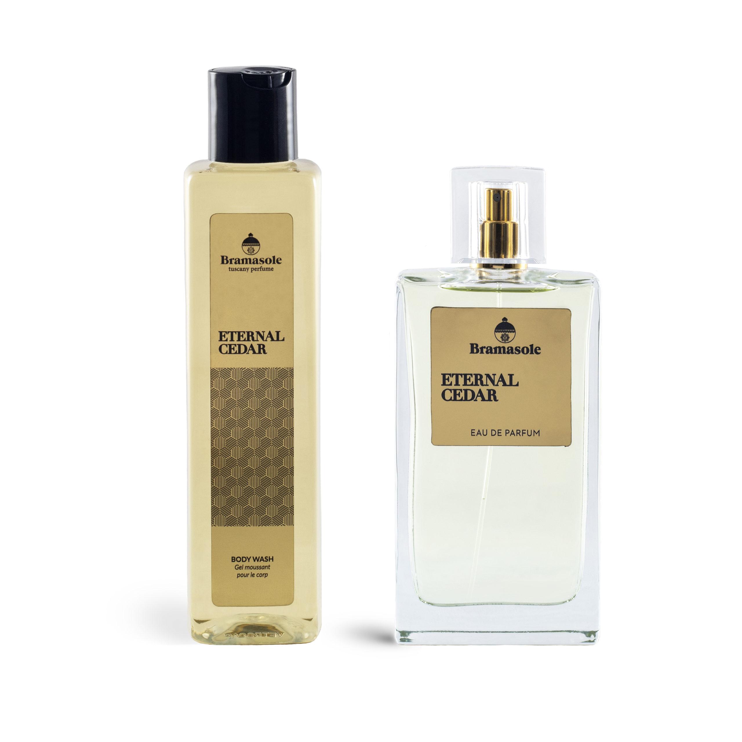 Eternal Cedar - profumo e bagnoschiuma